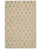 RugStudio presents Nourison Strata Stt05 Ivory Blue Hand-Tufted, Good Quality Area Rug