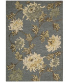 RugStudio presents Nourison Sunburst Sun01 Denim Hand-Tufted, Better Quality Area Rug