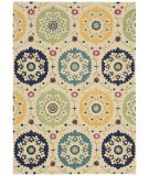 RugStudio presents Nourison Suzani Suz01 Ivory Hand-Tufted, Best Quality Area Rug