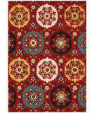 RugStudio presents Nourison Suzani Suz01 Red Hand-Tufted, Best Quality Area Rug