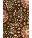 RugStudio presents Nourison Suzani Suz02 Brown Hand-Tufted, Best Quality Area Rug