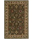 RugStudio presents Rugstudio Famous Maker 39578 Espresso Hand-Knotted, Best Quality Area Rug