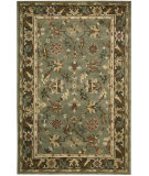 RugStudio presents Nourison Tahoe Ta10 Green Hand-Knotted, Best Quality Area Rug