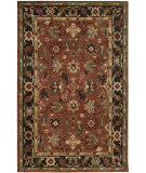RugStudio presents Nourison Tahoe Ta12 Rust Hand-Knotted, Best Quality Area Rug
