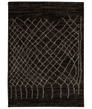 RugStudio presents Nourison Tangier Tan05 Black Machine Woven, Good Quality Area Rug
