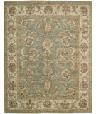 RugStudio presents Rugstudio Sample Sale 25170R Green Hand-Knotted, Better Quality Area Rug