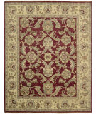 RugStudio presents Nourison Tajik TJ-01 Red Hand-Knotted, Better Quality Area Rug