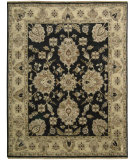 RugStudio presents Rugstudio Sample Sale 25175R Black Hand-Knotted, Better Quality Area Rug