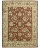 RugStudio presents Nourison Tajik TJ-04 Rust Hand-Knotted, Better Quality Area Rug