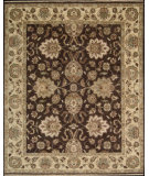 RugStudio presents Nourison Tajik TJ-05 Chocolate Hand-Knotted, Better Quality Area Rug