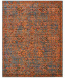 RugStudio presents Nourison Timeless Tml08 Teal Machine Woven, Good Quality Area Rug