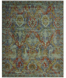 RugStudio presents Nourison Timeless Tml09 Turquoise Machine Woven, Good Quality Area Rug