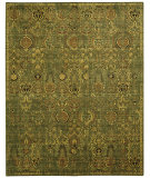 RugStudio presents Nourison Timeless Tml11 Green Gold Machine Woven, Good Quality Area Rug