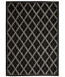 RugStudio presents Nourison Tranquility Tnq01 Black Machine Woven, Good Quality Area Rug