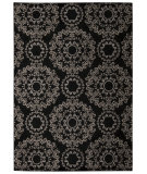 RugStudio presents Nourison Tranquility Tnq03 Black Machine Woven, Good Quality Area Rug