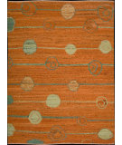 RugStudio presents Nourison Taos TOS-2 Orange Flat-Woven Area Rug