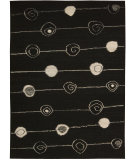 RugStudio presents Nourison Taos TOS-2 Black Flat-Woven Area Rug