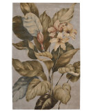 RugStudio presents Nourison Tropics TS-04 Beige Hand-Tufted, Best Quality Area Rug