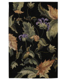 RugStudio presents Nourison Tropics TS-05 Black Hand-Tufted, Best Quality Area Rug
