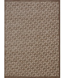 RugStudio presents Nourison Ultima Ul322 Ivory Mocha Machine Woven, Good Quality Area Rug