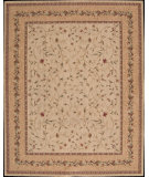RugStudio presents Nourison Vallencierre VA-09 Beige Machine Woven, Good Quality Area Rug