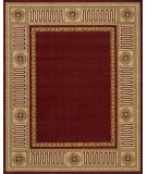 RugStudio presents Rugstudio Famous Maker 39585 Burgundy Machine Woven, Good Quality Area Rug