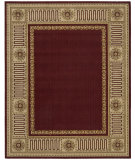 RugStudio presents Nourison Vallencierre VA-17 Burgundy Machine Woven, Best Quality Area Rug