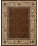RugStudio presents Nourison Vallencierre VA-27 Brown Machine Woven, Best Quality Area Rug