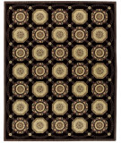 RugStudio presents Nourison Vallencierre VA-34 Midnight Machine Woven, Best Quality Area Rug