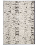 RugStudio presents Nourison Verdant Vdt05 Ivory - Black Machine Woven, Good Quality Area Rug