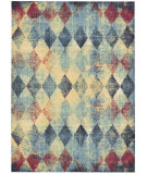 RugStudio presents Nourison Vista Vis05 Multicolor Machine Woven, Good Quality Area Rug
