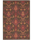 RugStudio presents Nourison Vista VIS-20 Brown Machine Woven, Good Quality Area Rug