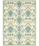 RugStudio presents Nourison Vista VIS-20 Ivory Machine Woven, Good Quality Area Rug