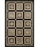 RugStudio presents Nourison Versailles Palace VP-09 Black Hand-Tufted, Good Quality Area Rug