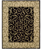 RugStudio presents Rugstudio Sample Sale 25322R Black Hand-Tufted, Best Quality Area Rug