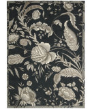 RugStudio presents Nourison Waverly Artisanal Delight Wad07 Noir Machine Woven, Best Quality Area Rug
