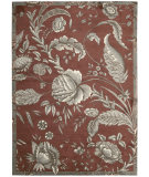 RugStudio presents Nourison Waverly Artisanal Delight Wad07 Russet Machine Woven, Best Quality Area Rug