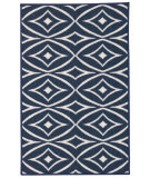 RugStudio presents Nourison Fancy Free Wff19 Ocean Flat-Woven Area Rug