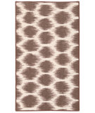 RugStudio presents Nourison Fancy Free Wff26 Mocha Flat-Woven Area Rug