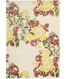 RugStudio presents Nourison Wildflowers Wil01 Ivory Woven Area Rug