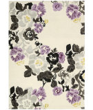 RugStudio presents Nourison Wildflowers Wil03 Ivory Hand-Tufted, Best Quality Area Rug