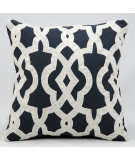 RugStudio presents Kathy Ireland Pillows Z1112 Charcoal