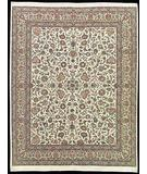 RugStudio presents Nourison Royalty KC-94 Ivory Hand-Knotted, Good Quality Area Rug