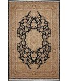 RugStudio presents Nourison Royalty KC-96 Black Hand-Knotted, Good Quality Area Rug