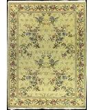 RugStudio presents Nourison Legacy LE-10 Yellow Hand-Knotted, Good Quality Area Rug