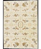 RugStudio presents Nourison Legacy LE-25 Ivory Hand-Knotted, Good Quality Area Rug