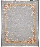 RugStudio presents Nourison Legacy LE-97 Light Blue Hand-Knotted, Better Quality Area Rug