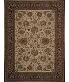 RugStudio presents Nourison Milburne Heights MI-03 Ivory-Navy Machine Woven, Better Quality Area Rug