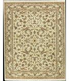 RugStudio presents Nourison Royalty RO-19 Beige Hand-Knotted, Good Quality Area Rug