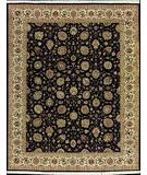 RugStudio presents Nourison Royalty RO-50 Black Hand-Knotted, Good Quality Area Rug
